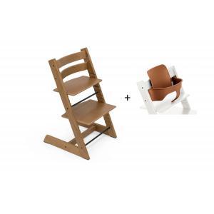 Stokke - BU437 - Chaise haute Tripp Trapp Chêne brun et Babyset (473246)