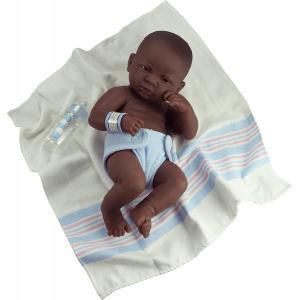 Berenguer - 18506 - Poupon Newborn nouveau né pleureur AfroAméricain sexué garçon 36 cm (58411)
