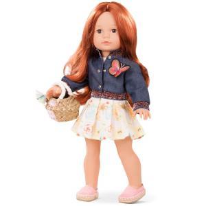Gotz - 1890304 - Poupées 46 cm - Precious Day Julia, macaron, cheveux acajou rouge (60807)