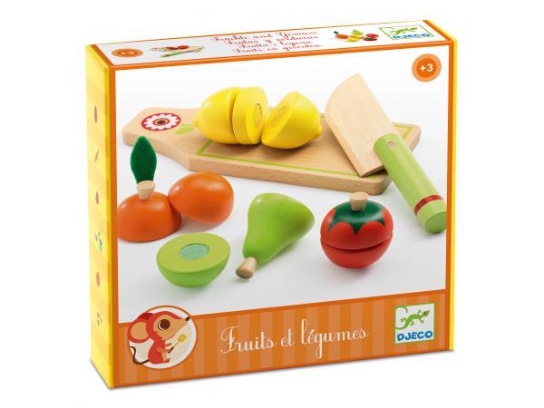 Imitation - gourmandises - fruits et légumes à couper*