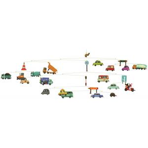 Djeco - DD04309 - Mobiles polypro - Trafic (63907)