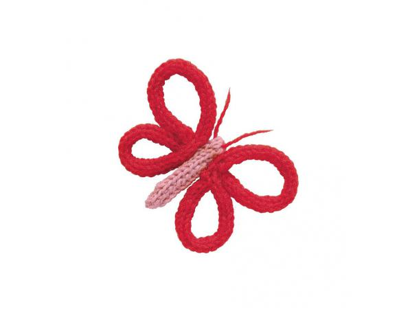 Tricotin elodie rouge