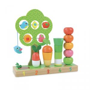Vilac - 2469 - J'apprends à compter les légumes - à partir de 18m (88759)