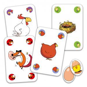 Djeco - DJ05119 - Jeux de cartes -  Piou Piou* (90658)