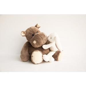 Histoire d'ours - HO1057 - Hippo - taille 38 cm - boîte cadeau (92397)