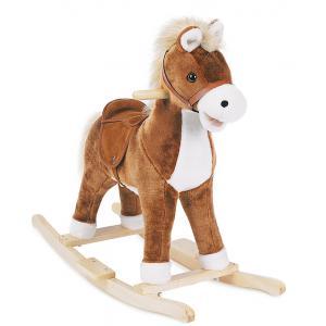 Histoire d'ours - HO1415 - Mon petit cheval - avec musique cow boy + effets sonores - 74*31*62 assise haut : 40 cm cm (92404)