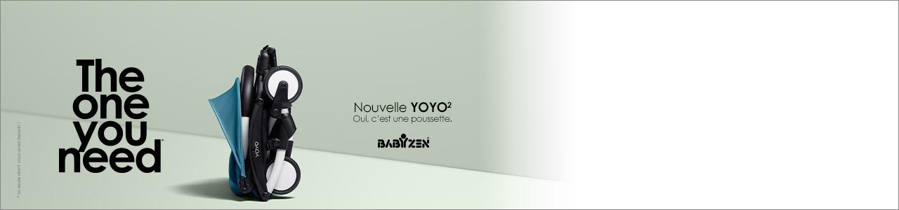 Catégorie Poussettes Babyzen Yoyo2 nacelle